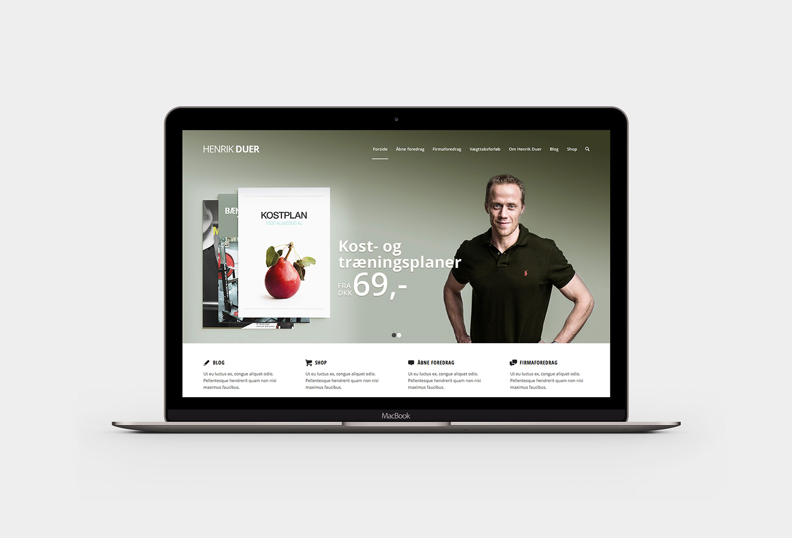 Henrik Duer - website
