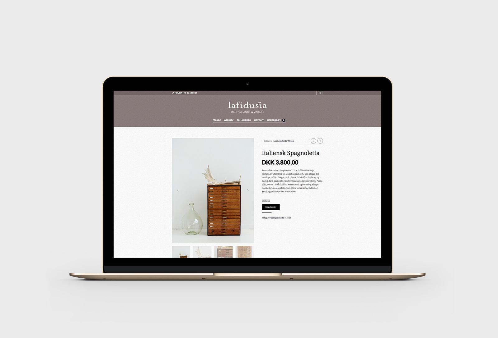 La Fidusia - Webshop