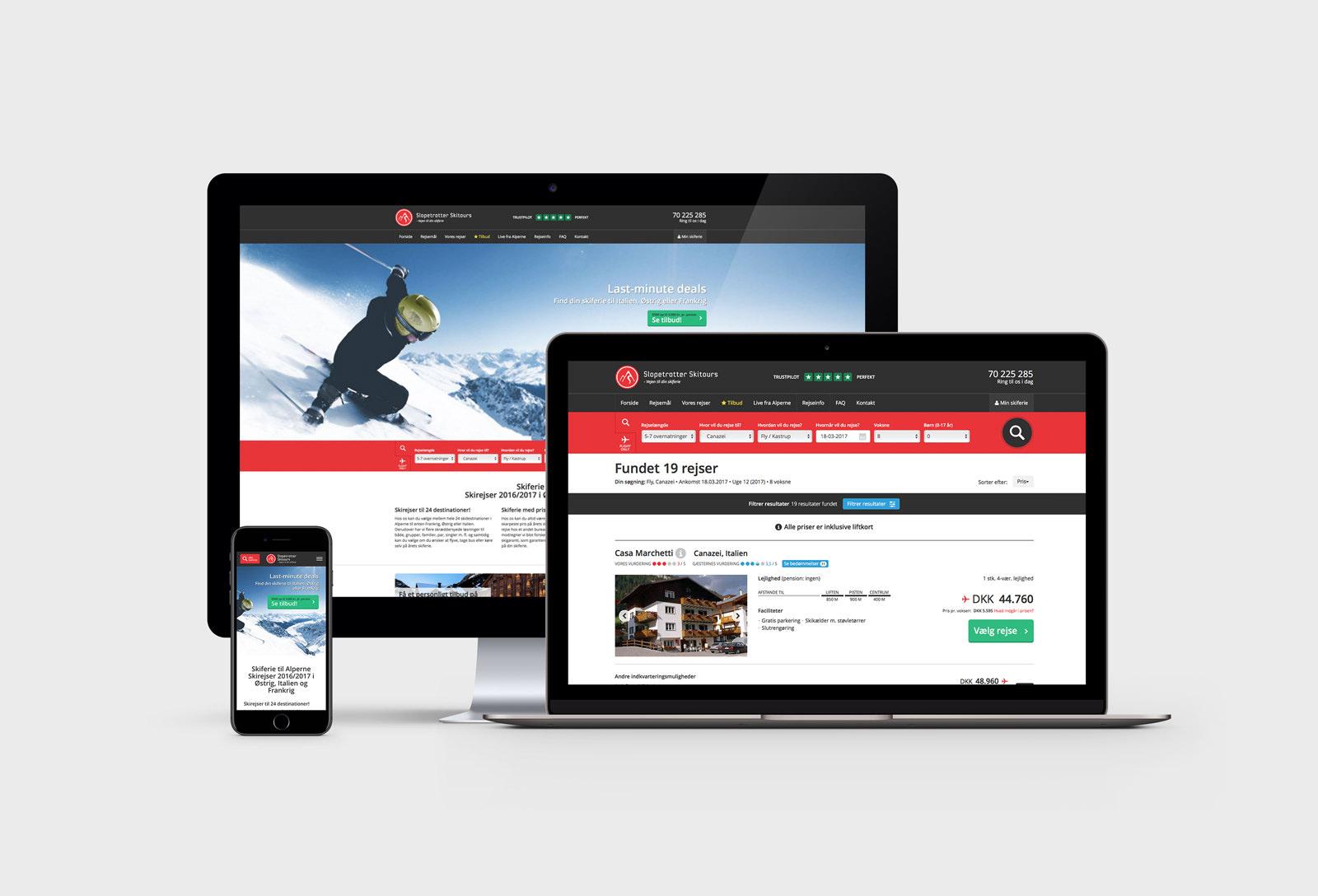 Slopetrotter Skitours - Website