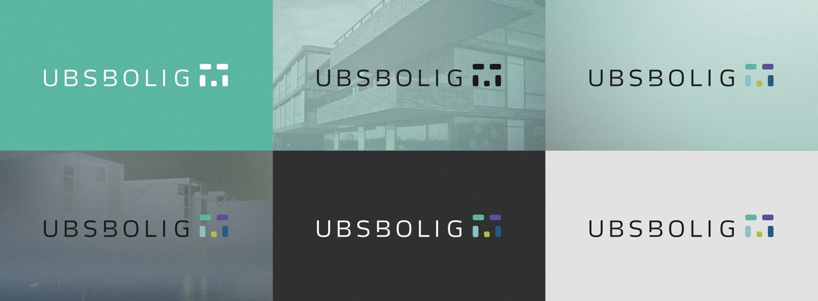 UBSBOLIG - Varianter af logo